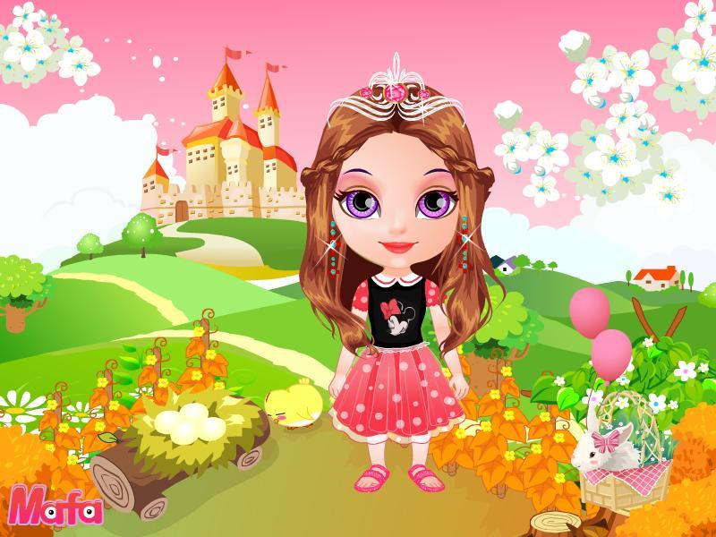 baby dress up games mafa