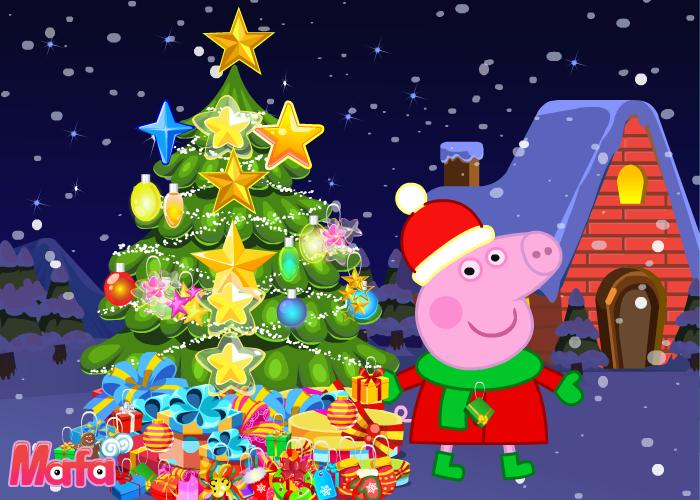 vote good bad advertisement peppa pig christmas tree decoration
