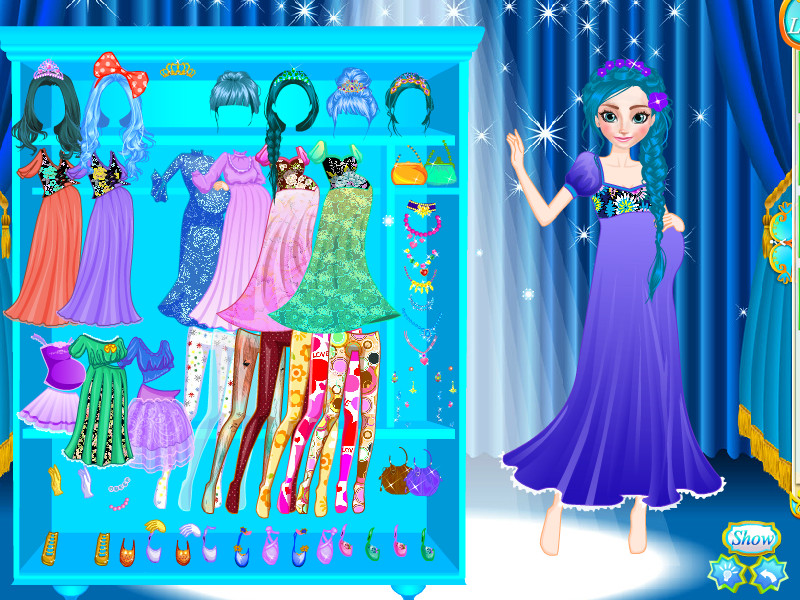 Download Anna Fashion Mommy Style Game
