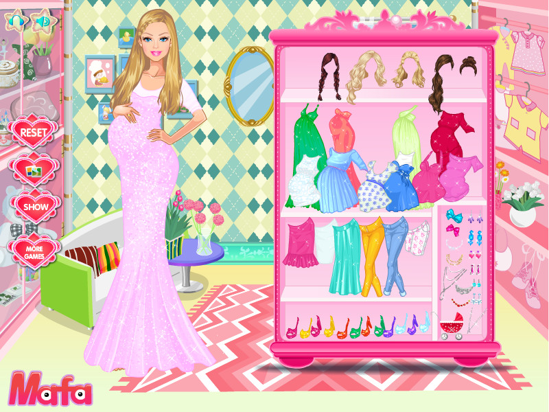 Download Barbie Fashion Mommy Style Game