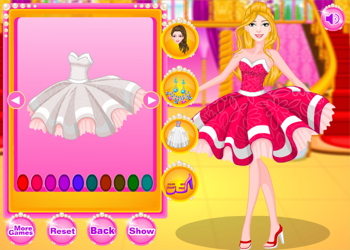 Download Barbie Party Dress Design Game