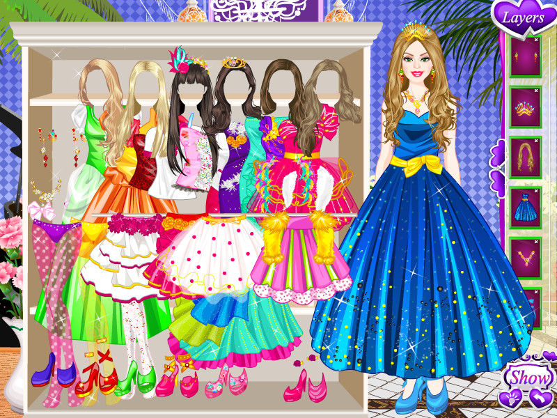 Download Barbie Prom Style Game