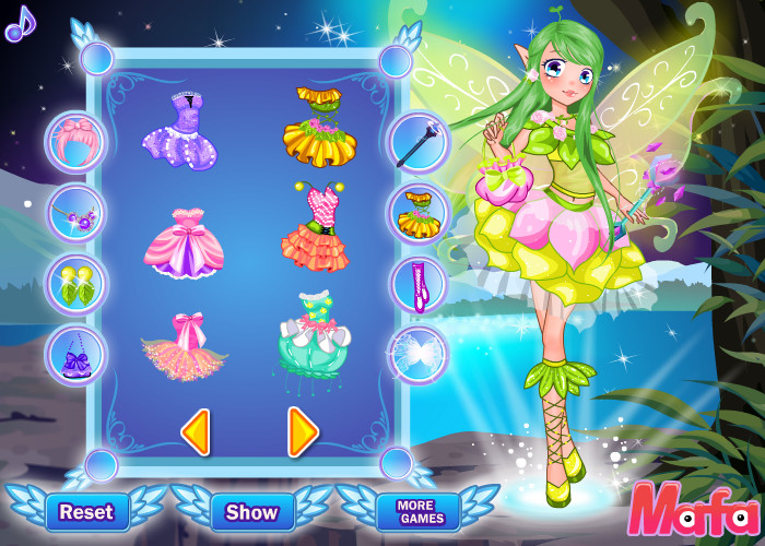 Fairy Princess Dressup Game - Play online at Y8.com