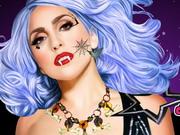 Lady Gaga Halloween Party Makeup