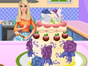 Barbie Cooking Cake