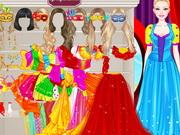 Barbie Masquerade Princess Dressup