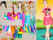 Barbie Picnic Princess Dressup
