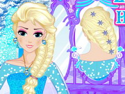 Elsa Royal Hairstyle Play The Girl Game line