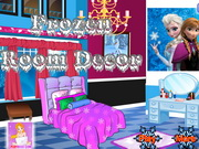 Loola decorate frozen house games