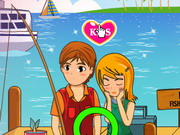 Kissing and Fishing