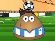 Pou Juggling Football