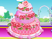 Rose Wedding Cake 2