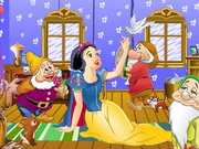 Snow White In Forest House