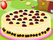 Fehér csokis szeder torta