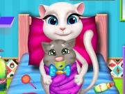 Angéla kiscicája