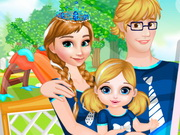 Anna and Kristoff Baby Feeding - Play The Girl Game Online