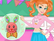 Anna Easter Bunny Cake