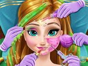 Играть макияж для девочек холодное сердце