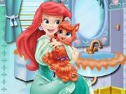 Ariel Treasure Bathroom Clean Up