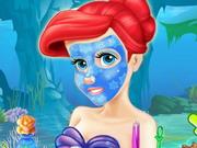 Ariel a party előtt