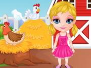Baby Barbie Pony Present