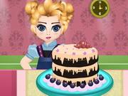 Baby Elsa Chocolate Cake