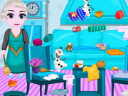 Baby Elsa Kitten Room Cleaning