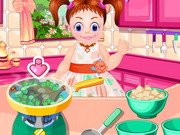 Baby Emma Cooking Lesson
