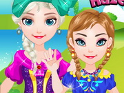 Baby Frozen Sisters Picnic