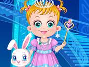 Baby Hazel As Ice Princess Dressup