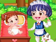 Baby Hazel Babysitter Dressup