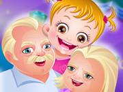 Baby Hazel Grandparents Day