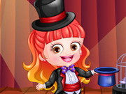 Baby Hazel Magician Dressup