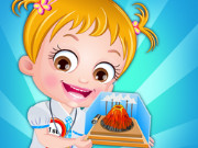 Baby Hazel Science Fair