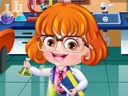 Baby Hazel Scientist Dressup