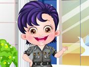 Baby Hazel Security Officer