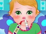 Baby Juliet Got Flu