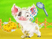 Baby Taylor Farm Tour Caring Animals