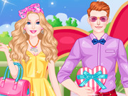 barbie valentine date game