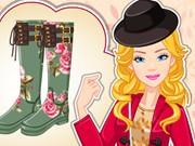 Barbie Autumn Wellies