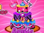 Barbie húsvéti tortája