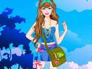 Barbie Camping Princess Dress Up