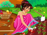 Barbie Cleaning The Garden