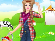 Barbie Farmer Princess Style