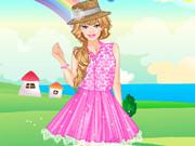 Barbie Lace Fashion Dress Up