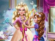 Barbie hercegnő szabászata
