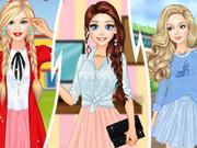 Barbie Rapunzel And Cinderella College Divas