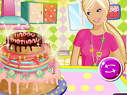 Barbie's Birthday Cake