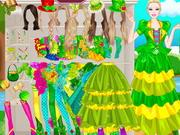 Barbie St Patrick Day Dressup