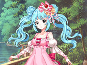 Candy Theme Anime Style Dress Up Game